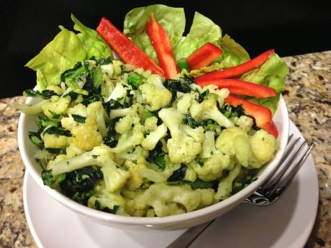Cauliflower and Kale Bowl