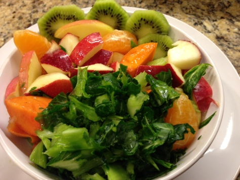 Fruit and veggie bowl