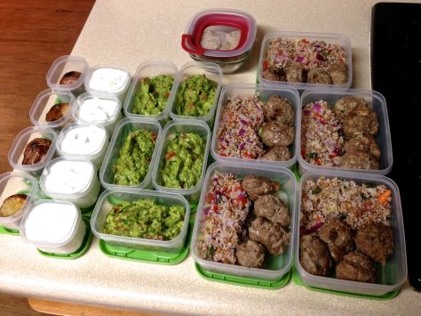 Weekly Meal Prep for my son