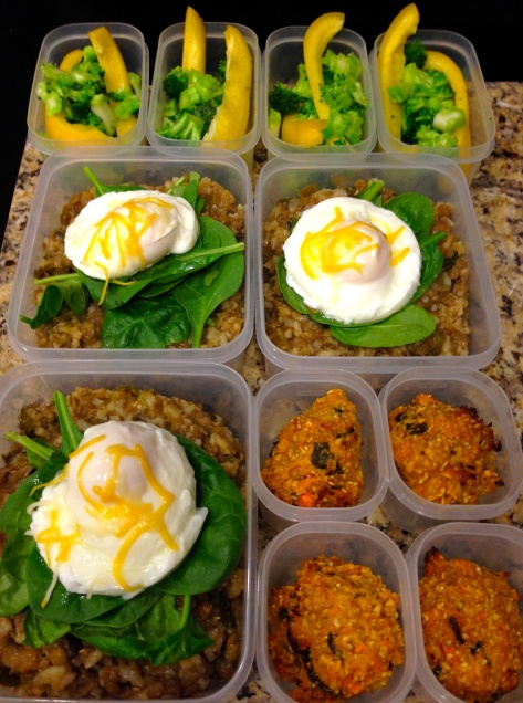 Three-day Meal Prep for my son