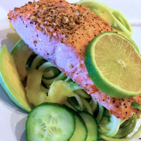 SalmonOverZoodles